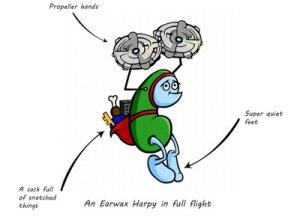 The Earwax Harpy