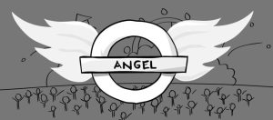 Angel tube station