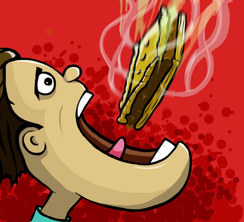 The empanada possession